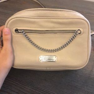 Marc Jacobs tan crossbody bag